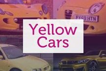 Yellow Cars / Loud and impossible to miss, yellow is the colour of NYC taxis for a good reason. Though it's not the most popular colour, yellow cars are sure to turn heads and is a favourite among those looking to make an impression with their car.
