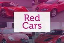 Red Cars / Historically the colour of Ferrari, red indicates speed and excitement.