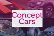 Concept Cars / Concept Cars - from the futuristic to the pre-production, every car starts life somewhere.
