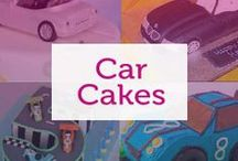Car Cakes / Cakes for the car lover.