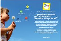 Village for all - V4A / Village for all – V4A® is the quality brand for accessible tourism that guarantees through the information disclosed to to persons with disabilities (limited mobility or temporary), families with small children, elderlies, people with allergies / intolerances, diabetes, obese people with sensory limitations (deaf and blind),  and dialysis, the choose where to spend their holidays. / by VILLAGE FOR ALL - V4A