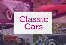 Classic cars / Iconic cars from the years whose beauty and reputation have made them famous.