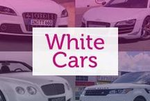 White Cars / One of the most popular car colours of the moment, white cars are often associated with prosperity and wealth.