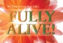 """Fully Alive! / The famous quote from St. Ireneus: """"The glory of God is man fully alive!""""  Being """"fully alive"""" can mean different things.  What does being """"fully alive"""" mean to you?  My first book, entitled Fully Alive!, will be published later this year.  I am very interested in your ideas!  If you would like to pin to this board simply """"follow"""" the board, and email me at janicecarbon@gmail.com.  I will send an invite.  No spam please.    / by Janice Carbon"""