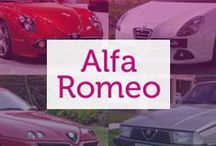 Alfa Romeo / Comfort, sportiness, elegance and design are at the heart of Alfa Romeo's values, a company who continually impress with quality vehicles.
