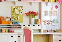 Craft Room - Supplies / Storage ideas for craft supplies