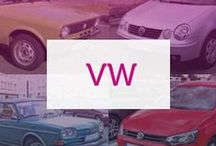 Volkswagen / Whether it's the eternally popular Golf or the offbeat Beetle, Volkswagen have always lead the motoring industry with superior engines and exciting design.