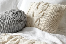 Knitting Pillows Rugs