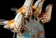 Art - Animal, Bird and Fish Sculptures  /  Pottery, Fiber and Mix Media  ALL IMAGES ARE SUBJECT TO COPYRIGHT LIMITATIONS BY THE ORIGINAL OWNERS. Click on the links for more information.