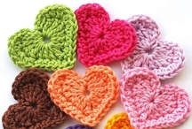 Knitting - Flowers & Hearts