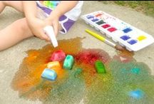 Easy Summer Fun Ideas / Easy summer ideas that will keep your little one entertained throughout the summer months!  Crafts, recipes, DIY projects and more!