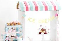Ice Cream Party Ideas / Ice cream parties!