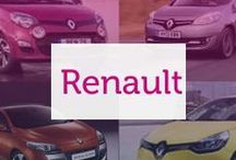 Renault / French manufacturers of quality cars, Renault have something for everyone in their extensive range.
