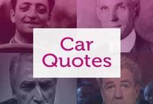 Quotes about Motoring / Our favourite quotes about the thrill of driving. #quotes #driving #cars #motoring