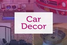 Car Themed Decor / Love cars so much you want to bring them into your home? Have a look at our favourite car themed home decor!
