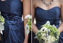 Navy & White Wedding / Wedding Flower & Decoration inspiration for Kait & Wade's wedding.
