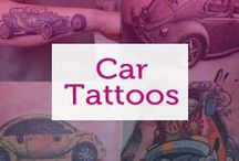 Car Tattoos / We love cars, but not enough to get them tattooed on us - these people clearly did though! We pay homage to the best (and worst) car tattoos.