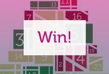 Competitions! / Click on the pins to go to our competitions! #win #prizes #discounts