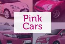 Pink Cars / The ultimate girly colour, these cars have been designed with the ladies in mind, and are guaranteed to stand out!