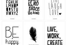 DYI   Printable & Label