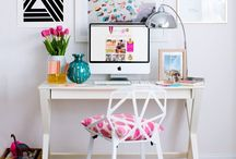 Who works at home? / Small office workplace solutions for your home. The key to success, organization station.