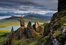 Scotland, including Scottish Isles and Highlands / Inspiration for my Highland shifter romances.