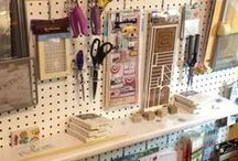 Craft Room - Peg Boards