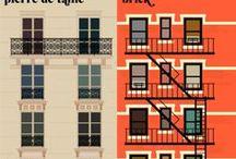 Paris versus New York / Paris versus New York, by Vahram Muratyan  Paris vs New York, a tally of two cities. Un match visuel amical entre ces deux villes, c'est le regard d'un amoureux de Paris sur un New York rempli de détails, de clichés et de contradictions : suivez le guide. A friendly visual match between two cities told by a lover of Paris wandering through NewYork. Details, clichés, contradictions : This way, please.