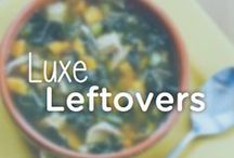 Healthy Ways to Use Up Leftovers / Lots of leftovers? Try one of these healthy and filling recipes that utilize Thanksgiving leftovers with an inventive twist. #noomsgiving / by Noom