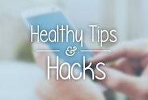 Healthy Tips & Hacks / Tiny tips to make weight loss easier #lifehack