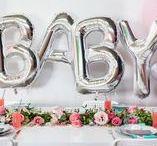 Baby Girl Shower Theme Inspirations / Beautiful baby shower ideas and inspirations.