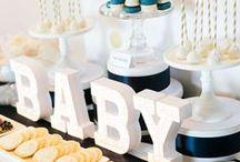 Baby Boy Shower Theme Inspirations / Beautiful baby shower theme ideas and inspirations.