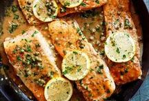 Fish and Seafood Recipes / Healthy Easy Seafood and Fish Recipes!!! Salmon, Shrimp, Scallops, Crab and Lobster!!!!! Make Dinner Delicious with these Amazing Recipes