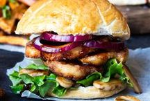 Burgers, Sandwiches and Wraps / Everyone loves a Simple yet Delicious Sandwich!!! Find Quick Homemade Burger, Amazing Sandwich and Healthy Wrap Recipes here!!!! Vegetarian Roll Ups, Vegetable Wraps,  Unique Burgers and any kind of Mouthwatering Sandwiches!.... Ham, Turkey, Chicken, Hot or Cold