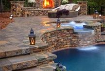 Outdoor Living / Ideas to help make your Outdoor Living Area the Perfect Space! Plants, Furniture and Decor! Pergola, Covered Patio,  Backyard Ideas, Deck and more