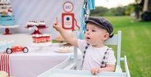 Vintage Race Car | Boy's 1st Birthday