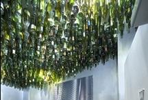 Wine Bottle Tree / by Molly Kunselman
