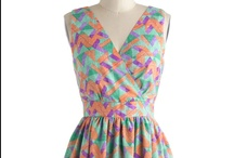 Clothing Wants / In my dream closet ... someday.