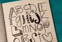 Art:  Fonts and Lettering / by Lisa Simmons