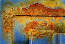 Verdigris, Patina, Tarnish, Corrosion, Coloration, Greenness & Rust / by Rita Bedritis
