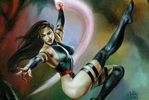 Psylocke (X-Men) / by Launchpad McQuack