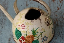 Watering cans / by Betty Fox