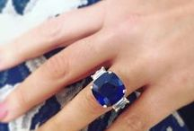 "TIVOL | Sapphires / Sapphire is the official September birthstone.  Typically, when we think ""sapphire"" we think of the brilliant blue color attributed to most sapphires. However, did you know that the name ""sapphire"" can also apply to any corundum that's not ruby red? Visit TIVOL.com to view our Sapphire jewelry selection, and check out this pin board for Sapphire inspiration and styling ideas for this beautiful gem. ;-)"