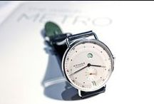 Nomos Glashutte / Nomos Glashutte is a German watch company that specializes in manual winding and automatic mechanical watches.  Winning multiple design awards and producing in-house movements make them a brand to watch!