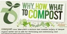 Composting / Composting is an important component to how we create our products. Learn more about composting with these educational pins below!