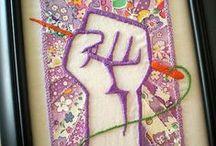 Hoopla - Embroidery & Cross Stitch / by MeggieKate