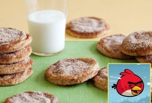 Let's Bake: Celebrity Cookies / Give your holidays a celebrity makeover with these top cookie recipes from the stars, including Mira Sorvino's gingerbread people, Cookie Monster's sugar cookies and holiday cookies that will be served in the White House.  Our sister network, Cooking Channel, has all the recipes! / by Food Network