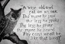 Owls Stick Always Together / Sigma Alpha Tau idea board / by Nicole Gonthier