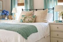 HOME SWEET HOME - Bedrooms / Ideas for decorating my bedroom. / by Rebecca Hood