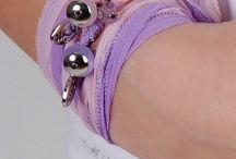Wrap bracelets  by Jozemiek / 100% silk wrap bracelet collection.www.jozemiek.com